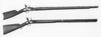 Thumbnail image of Flintlock gun Standard East India Company carbine lock Steel, Baker's improved pattern