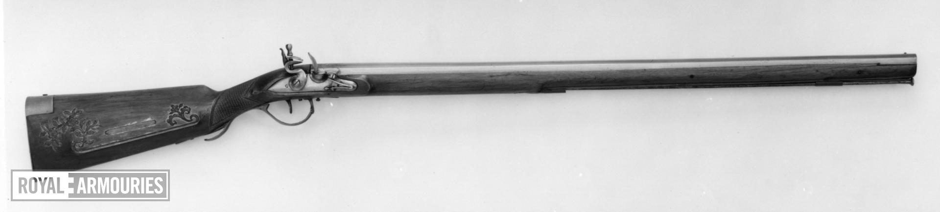 Flintlock muzzleloading musket - Trade Musket