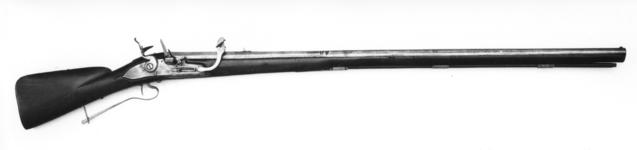 Thumbnail image of Flint and combined matchlock muzzle-loading musket