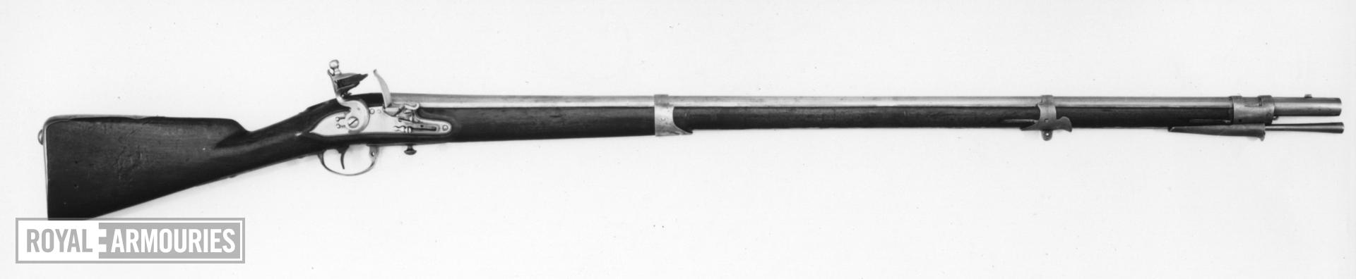 Flintlock muzzle-loading military musket - Model 1774