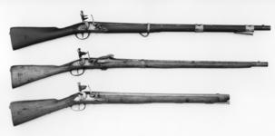 Thumbnail image of Flintlock muzzle-loading military carbine - Model 1770 Long Carbine, for Cuirassiers and Dragoons