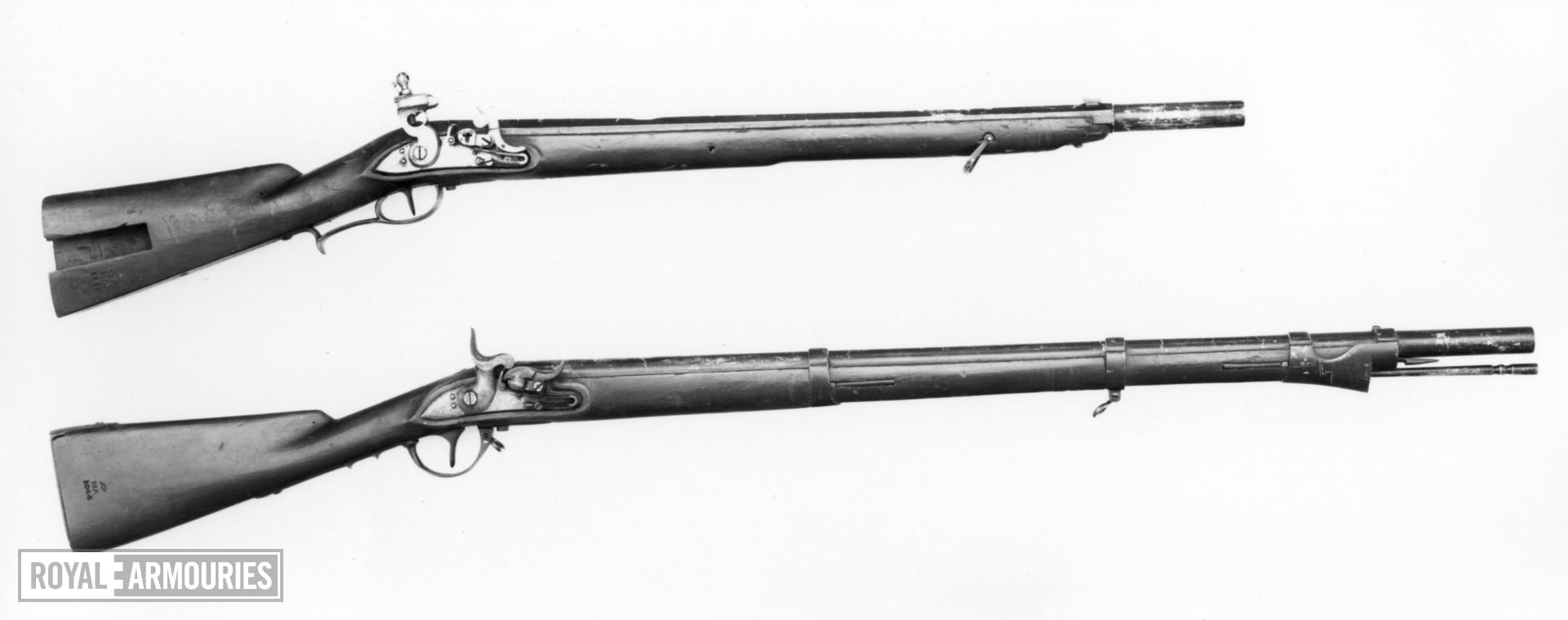 Percussion military carbine