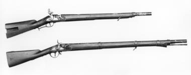 Thumbnail image of Percussion military carbine Tubelock type ignition Conforms to model 1838, Jager Carbine