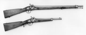 Thumbnail image of Percussion cavalry carbine - Model 1842 Tubelock type ignition