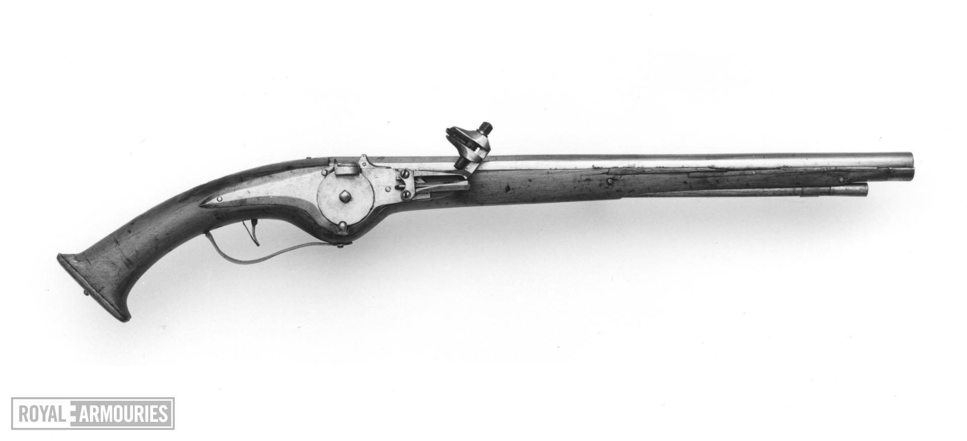 Wheellock pistol Military type pistol