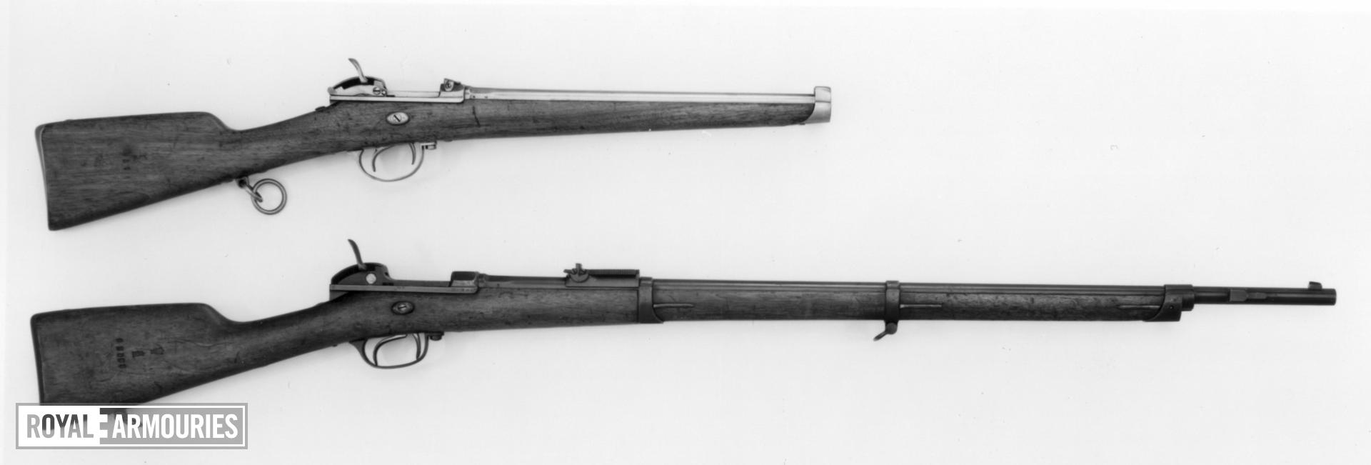 Centrefire breech-loading military carbine - Model 1869