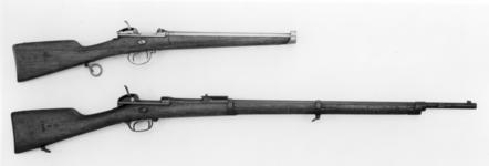 Thumbnail image of Centrefire breech-loading military carbine - Model 1869