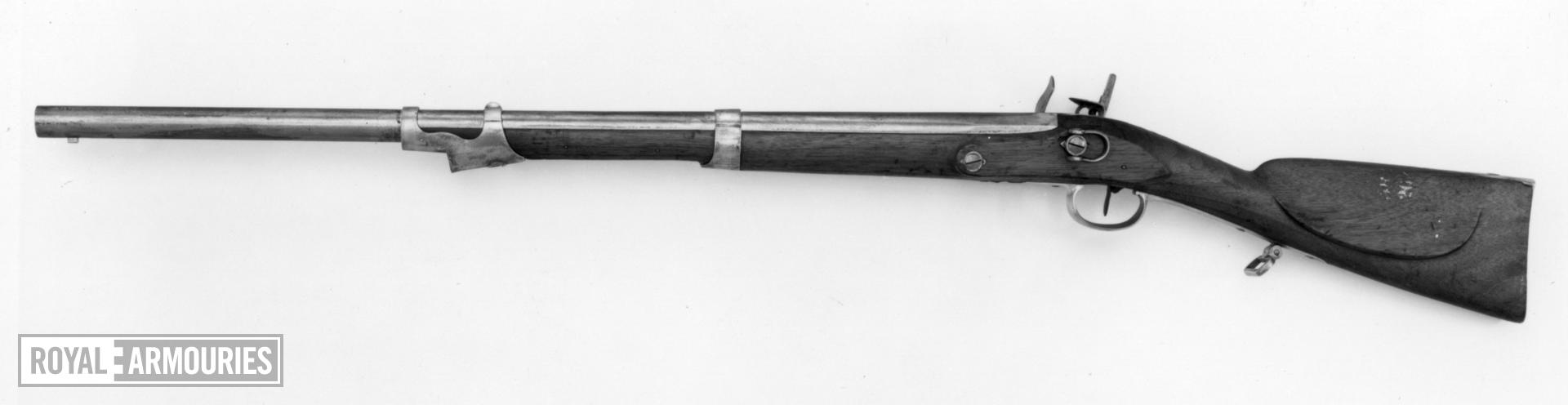 Flintlock military carbine For the Mounted Chasseurs of the Consular Guard