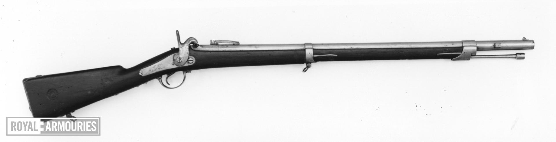 Percussion muzzle-loading military rifle - Model 1840