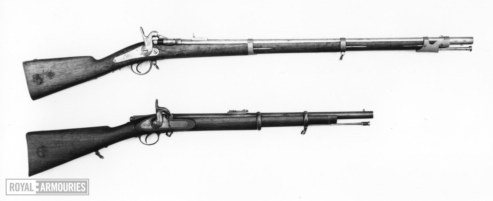 Centrefire breech-loading rifle - Model 1857