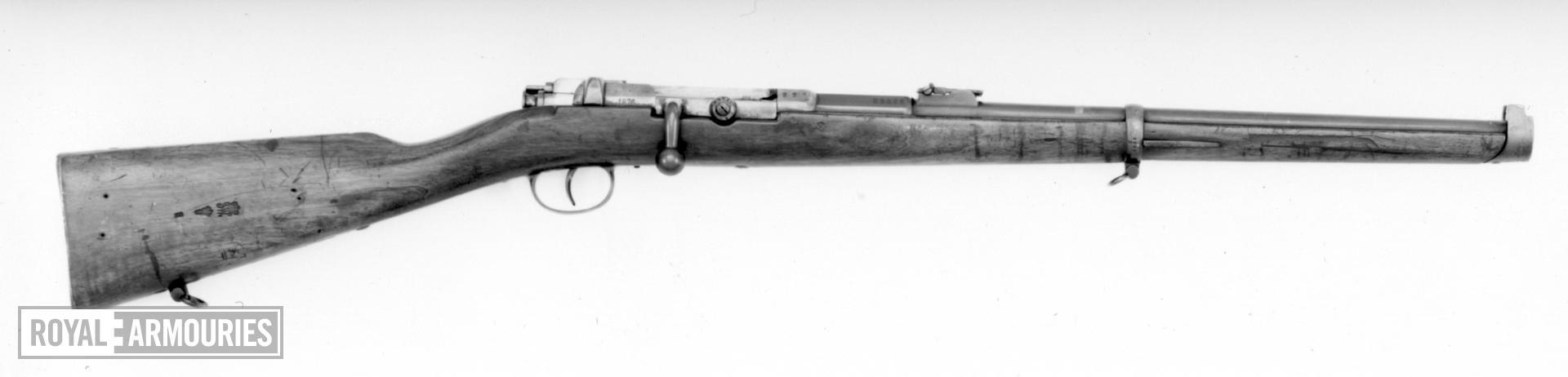 Centrefire military carbine - Model 1871