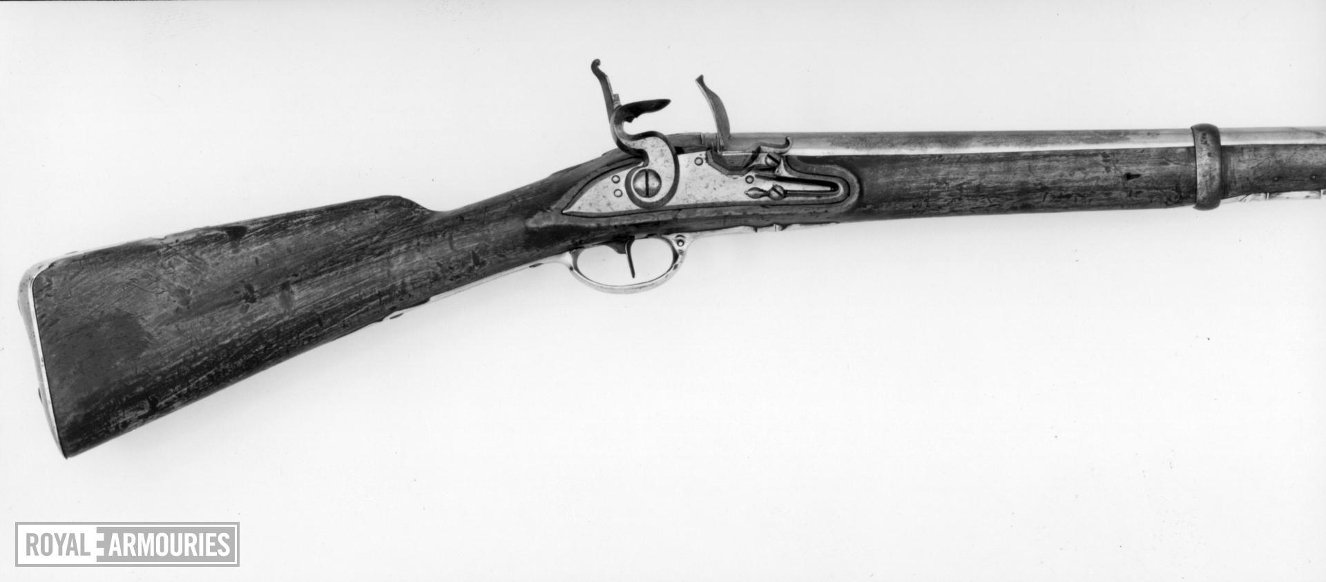 Flintlock carbine For Hanoverian Dragoons (?)