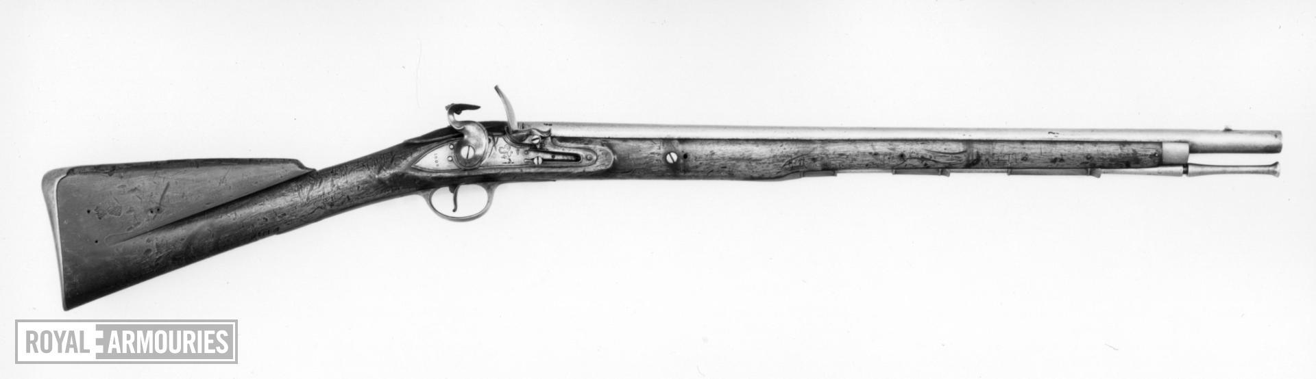 Flintlock muzzle-loading cavalry carbine - Elliott Carbine