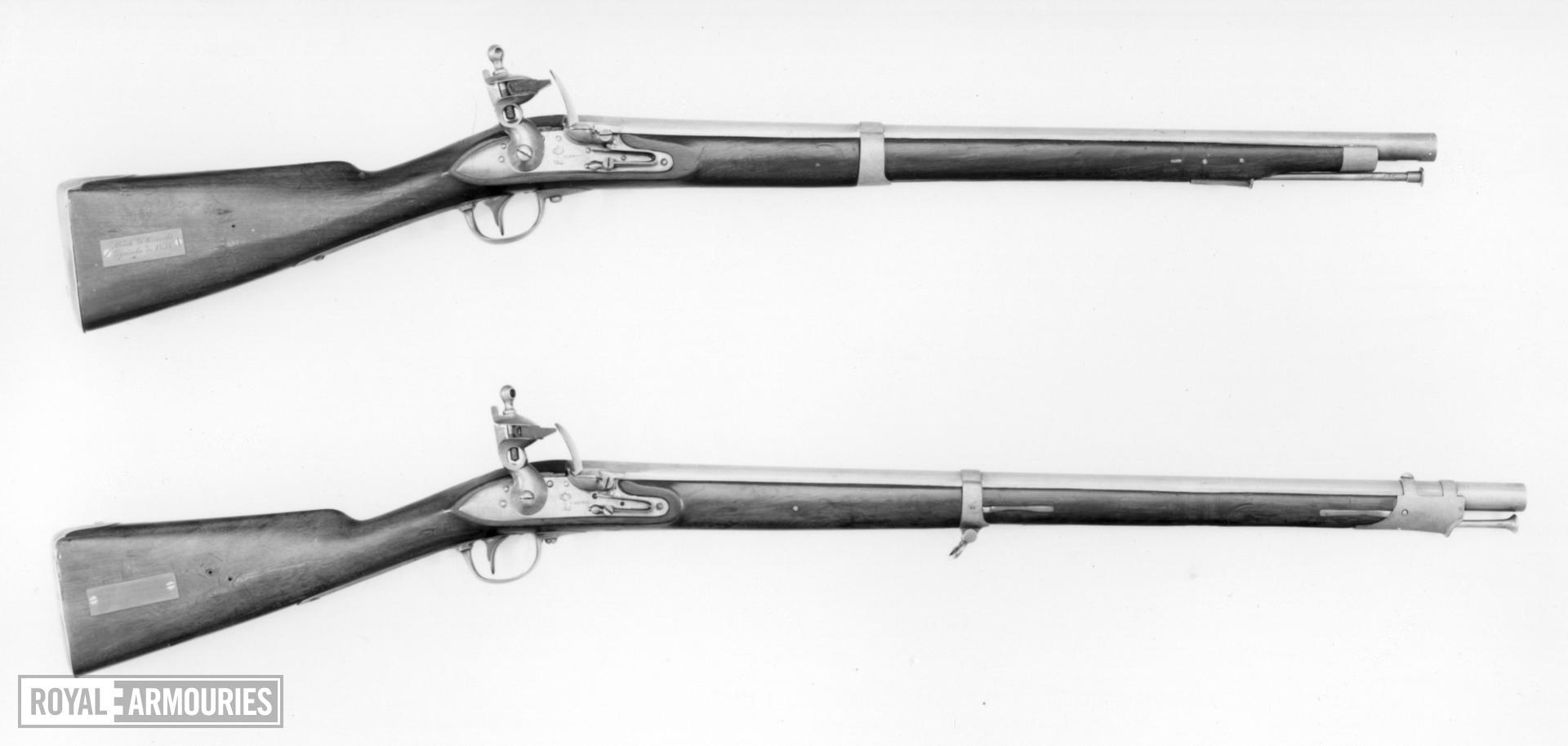 Flintlock cavalry carbine - Model 1831