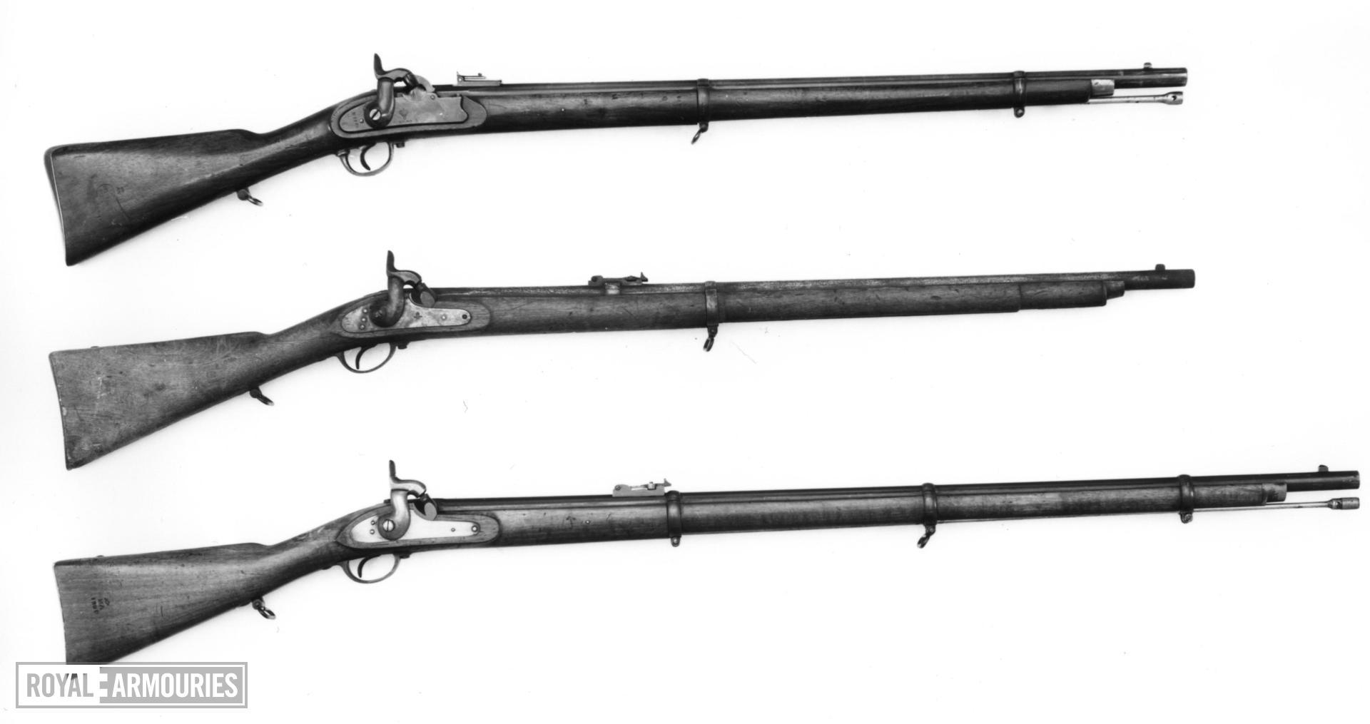 Percussion rifle - Model 1855