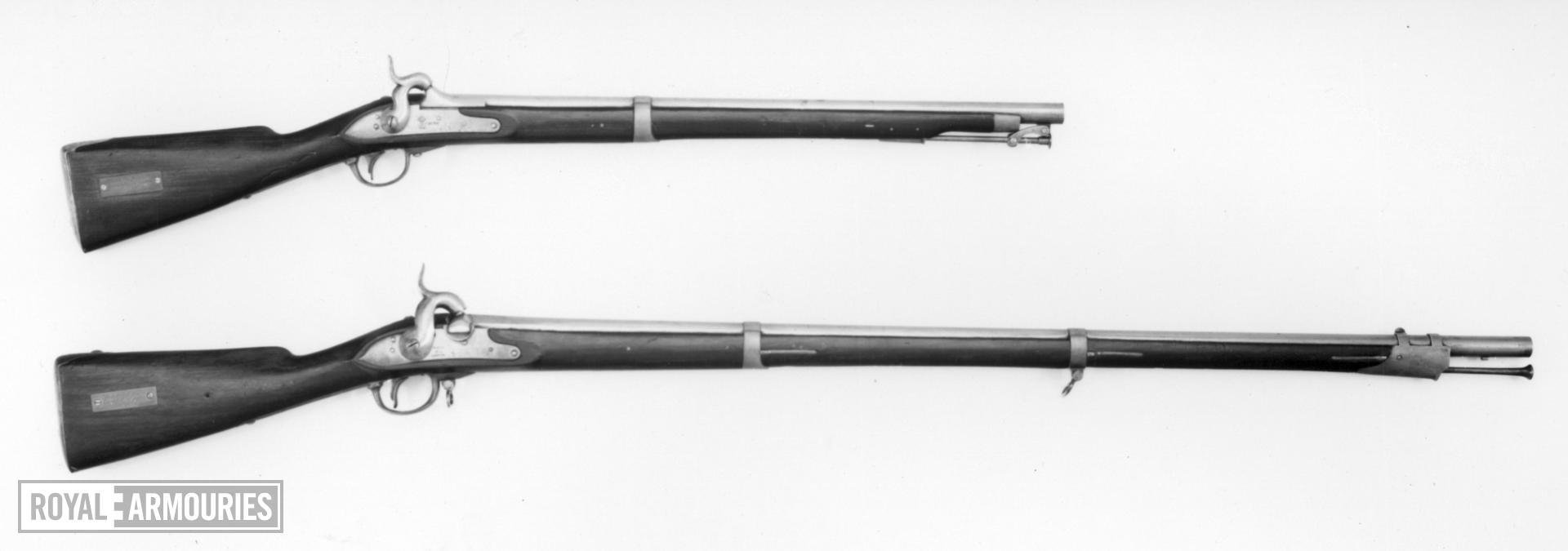 Percussion cavalry carbine - Model 1839