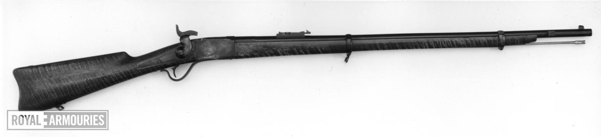Centrefire breech-loading rifle - Peabody rifle