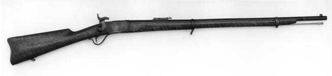 Thumbnail image of Centrefire breech-loading rifle - Peabody rifle X4314*