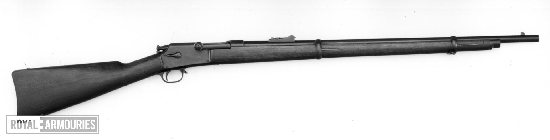 Centrefire bolt-action magazine rifle - Model 1883 Hotchkiss By Winchester