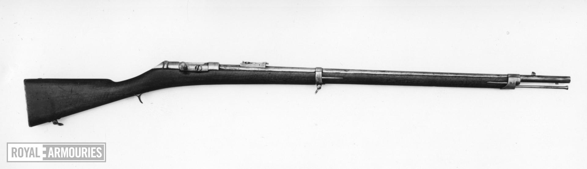 Centrefire breech-loading military rifle - Pieri's System