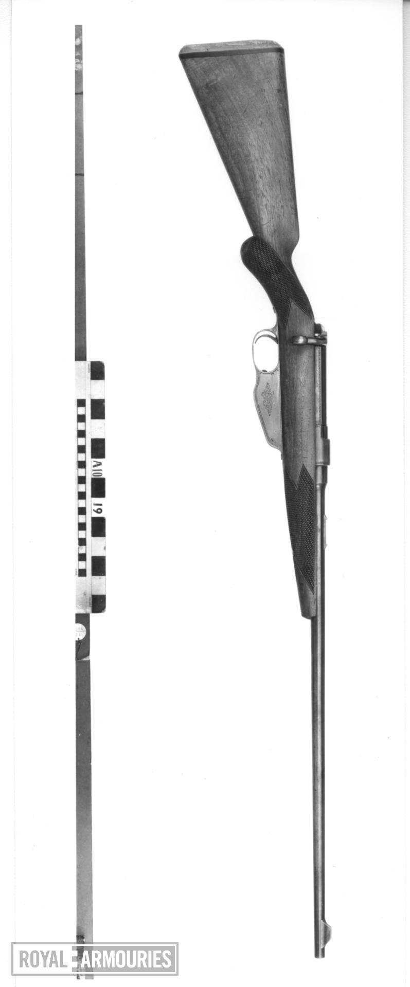 Centrefire bolt-action magazine sporting rifle - Ross Model 1900 Retailed by Charles Lancaster