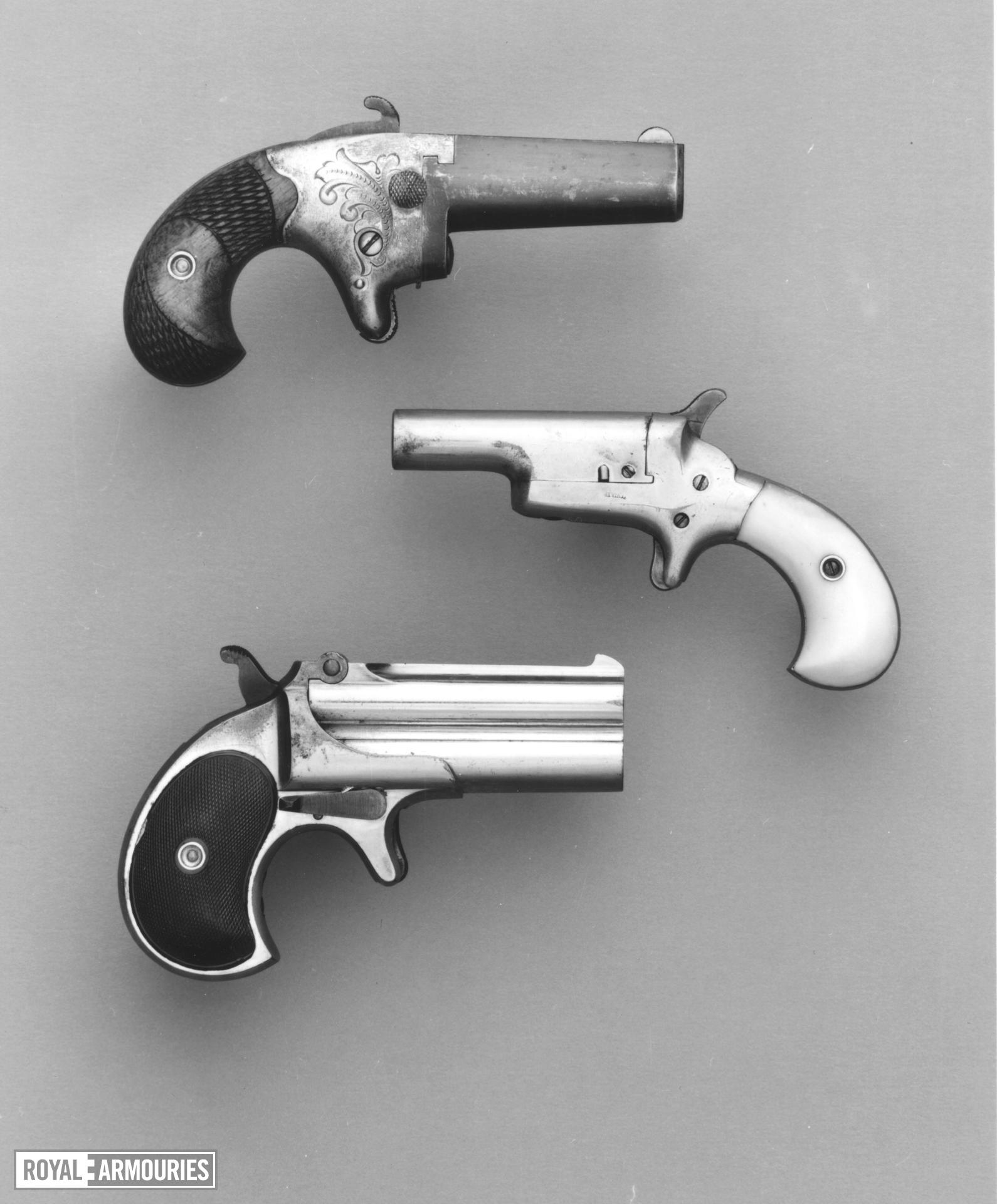 Rimfire two-shot derringer - Remington