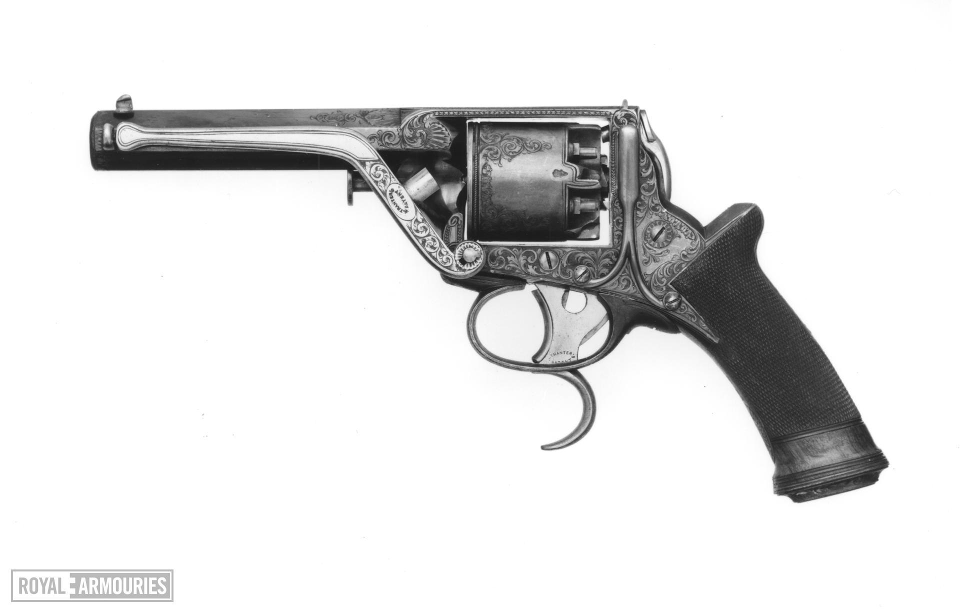 Percussion six-shot revolver - Tranter