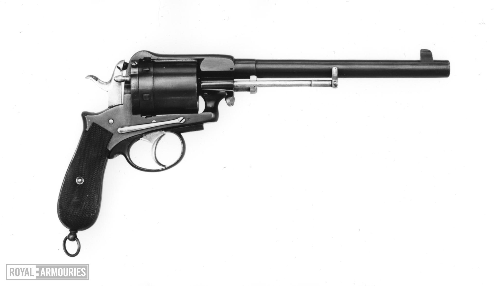 Centrefire six-shot revolver - Gasser