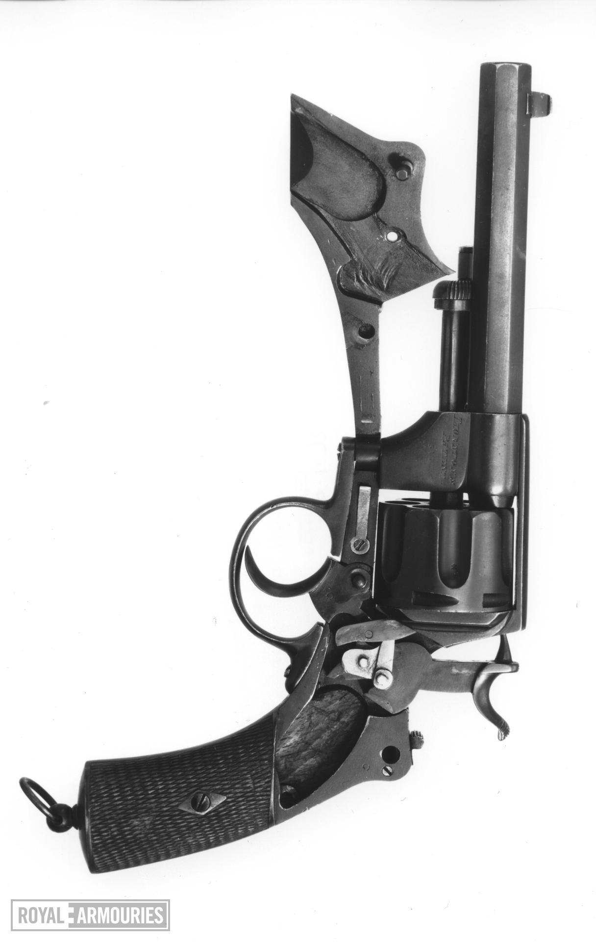 Centrefire six-shot revolver - Thornton's patent