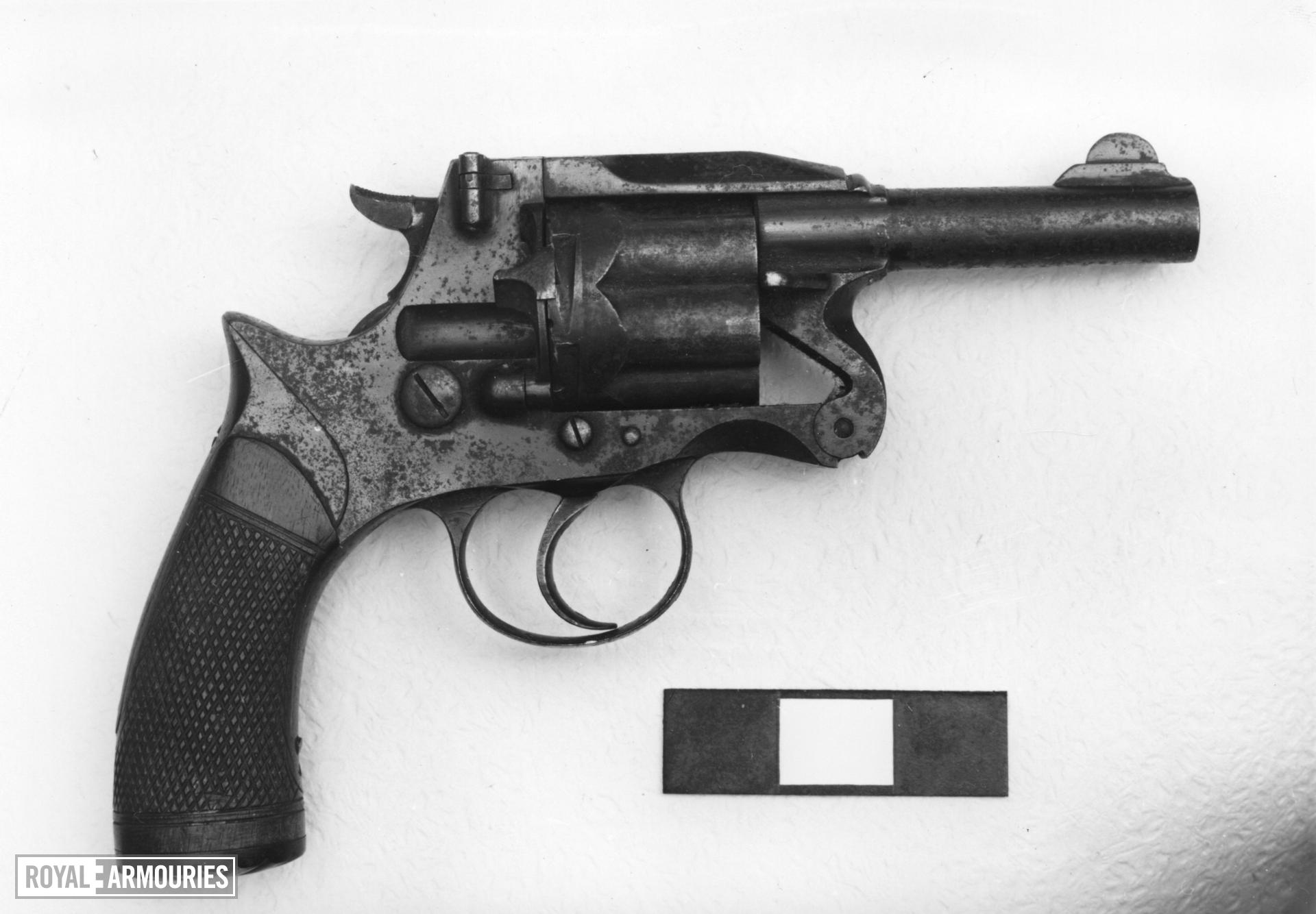 Centrefire six-shot revolver - Enfield Mk.I