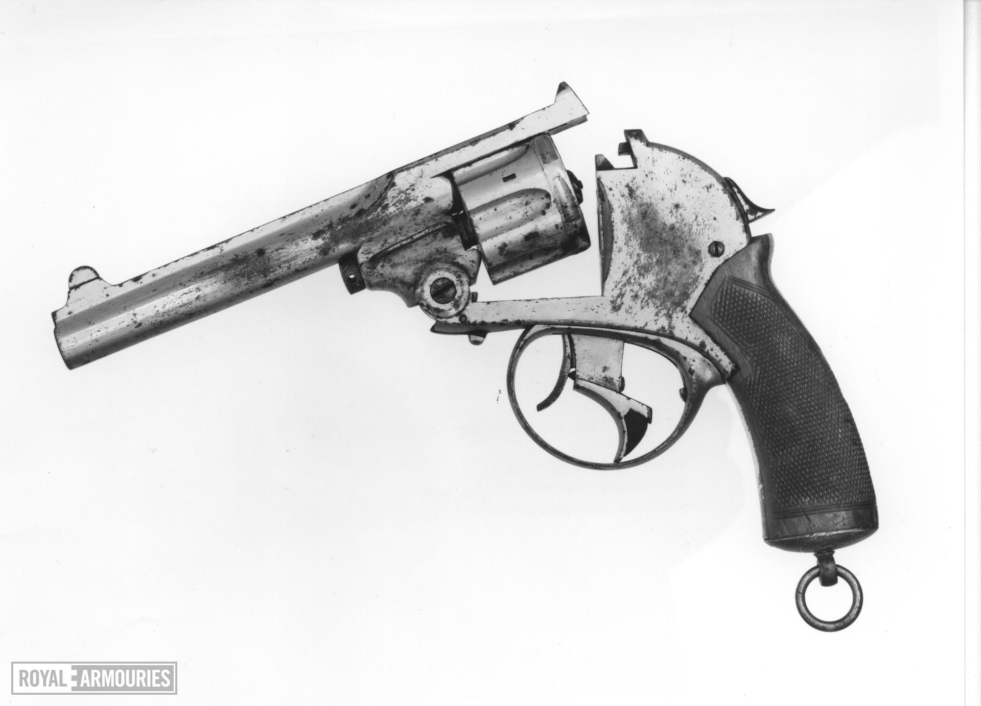 Centrefire six-shot revolver - Kynoch patent