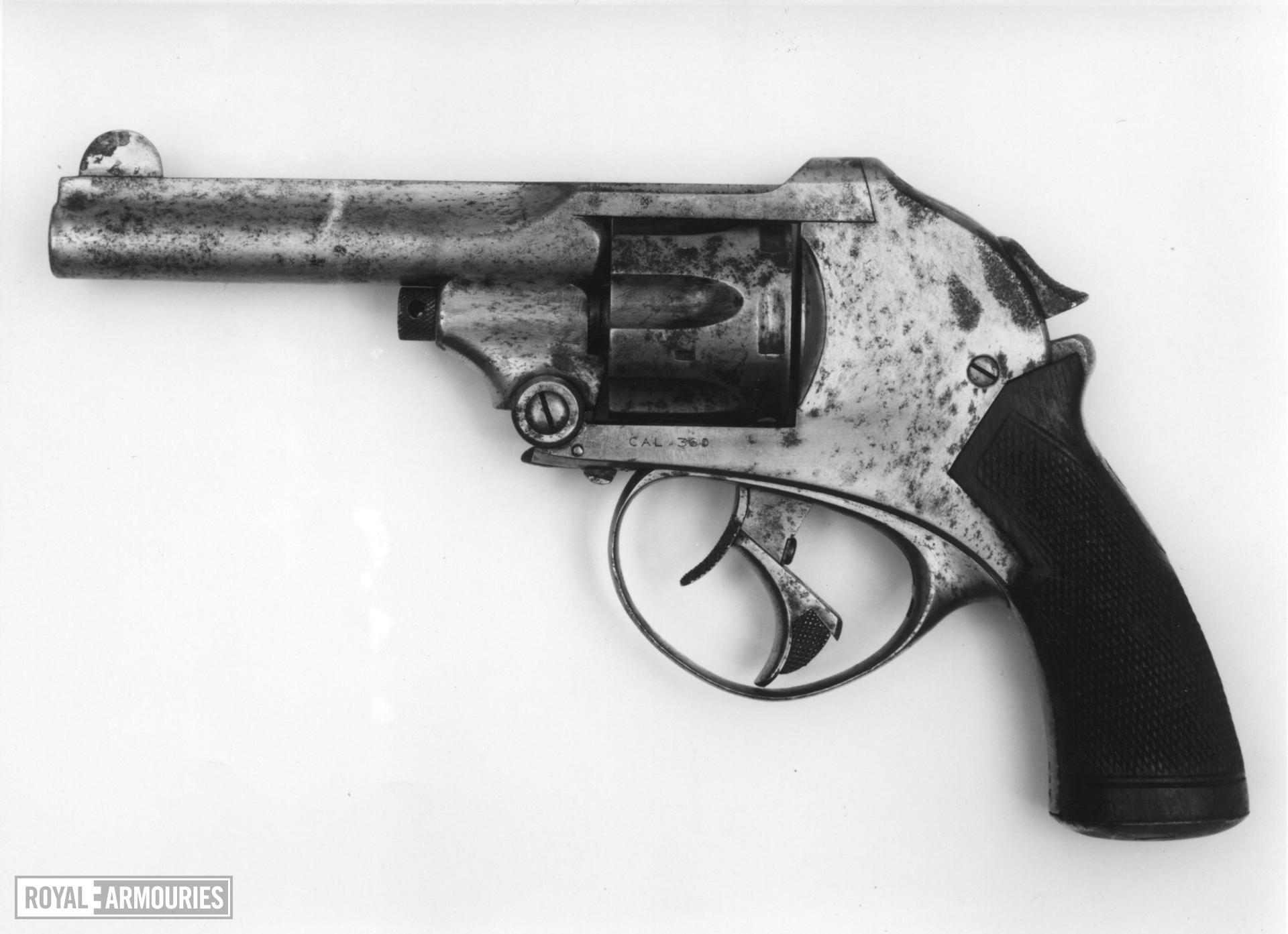 Centrefire six-shot revolver - Kynock Pocket Model