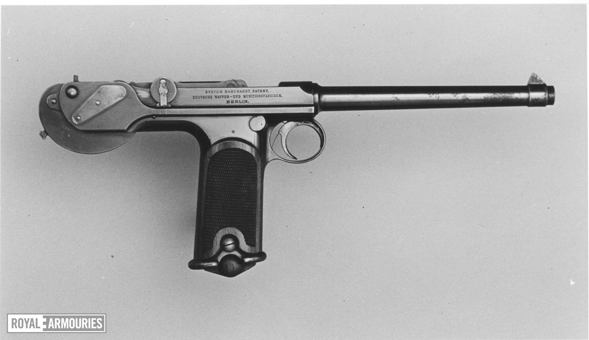 Centrefire self-loading pistol - Borchardt
