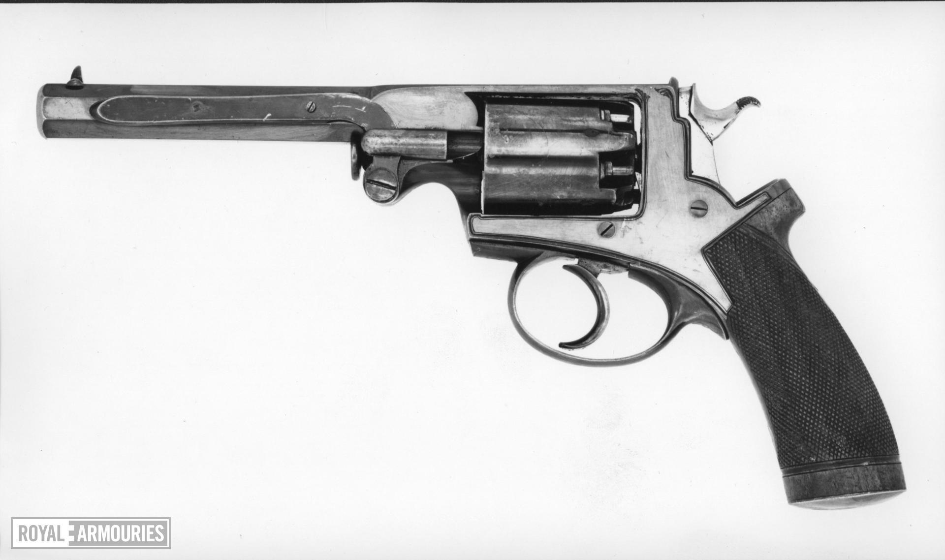Percussion five-shot military revolver - Beaumont Adams