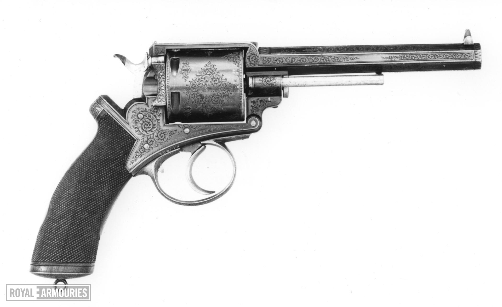 Centrefire five-shot revolver - Adams Model 1867B