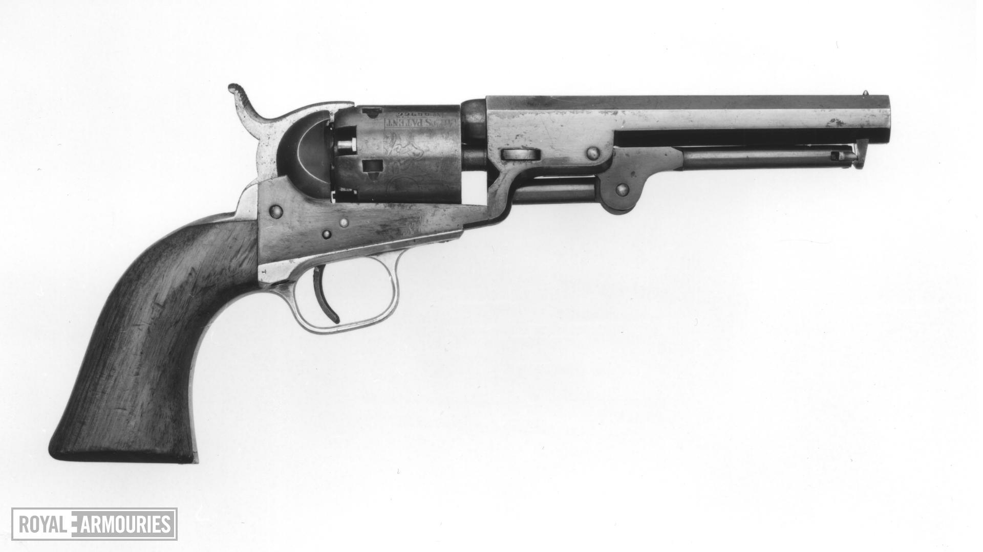 Percussion five-shot revolver - Colt Pocket Model 1849