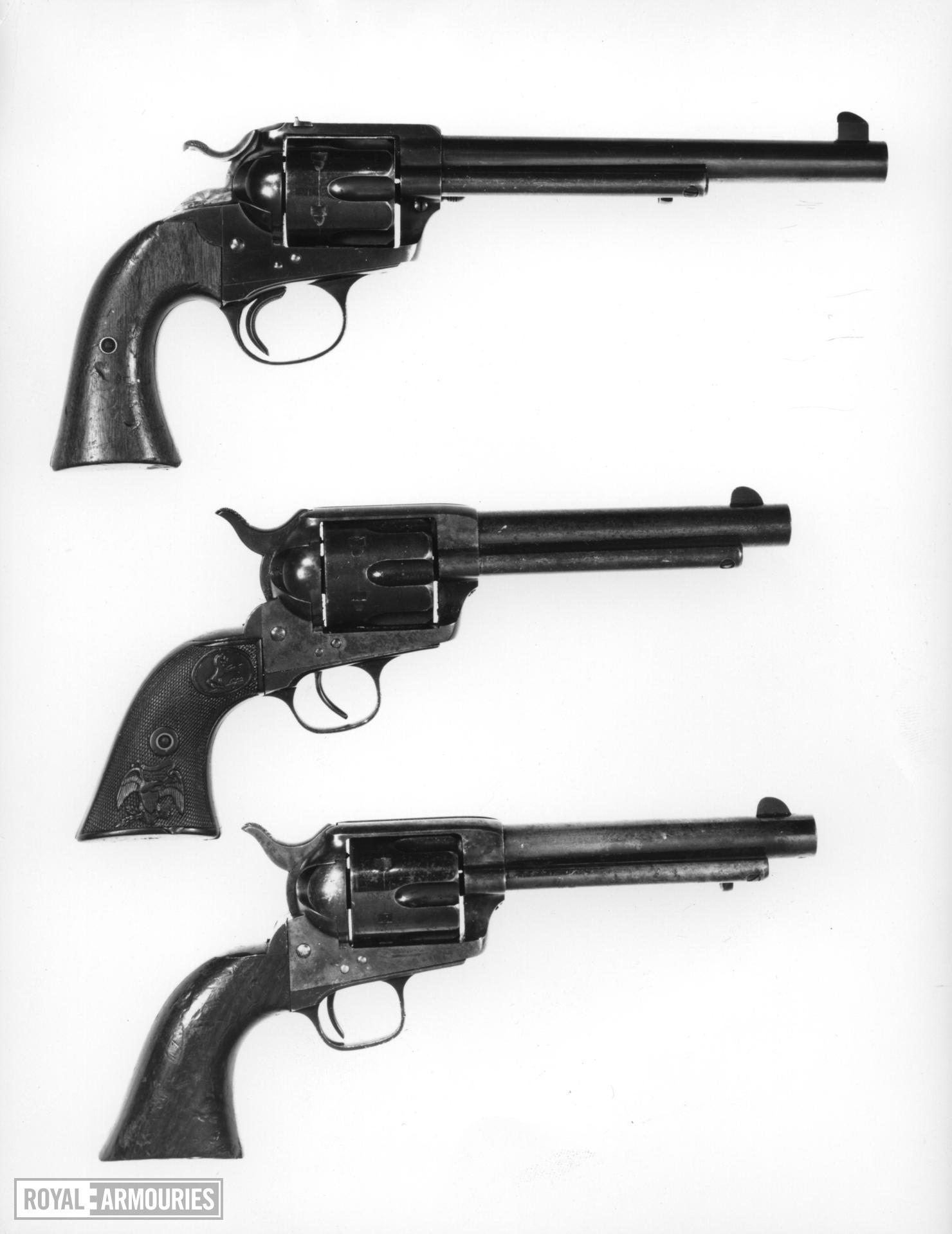 Centrefire six-shot revolver - Colt Single Action Army Model (SAA)