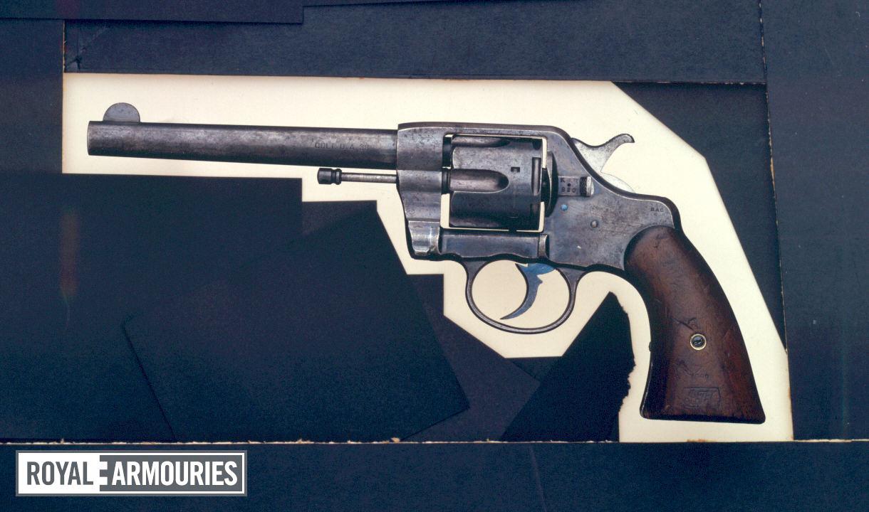 Centrefire six-shot military revolver - Colt Army Model 1896
