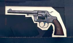Thumbnail image of Centrefire six-shot military revolver - Colt Army Model 1896