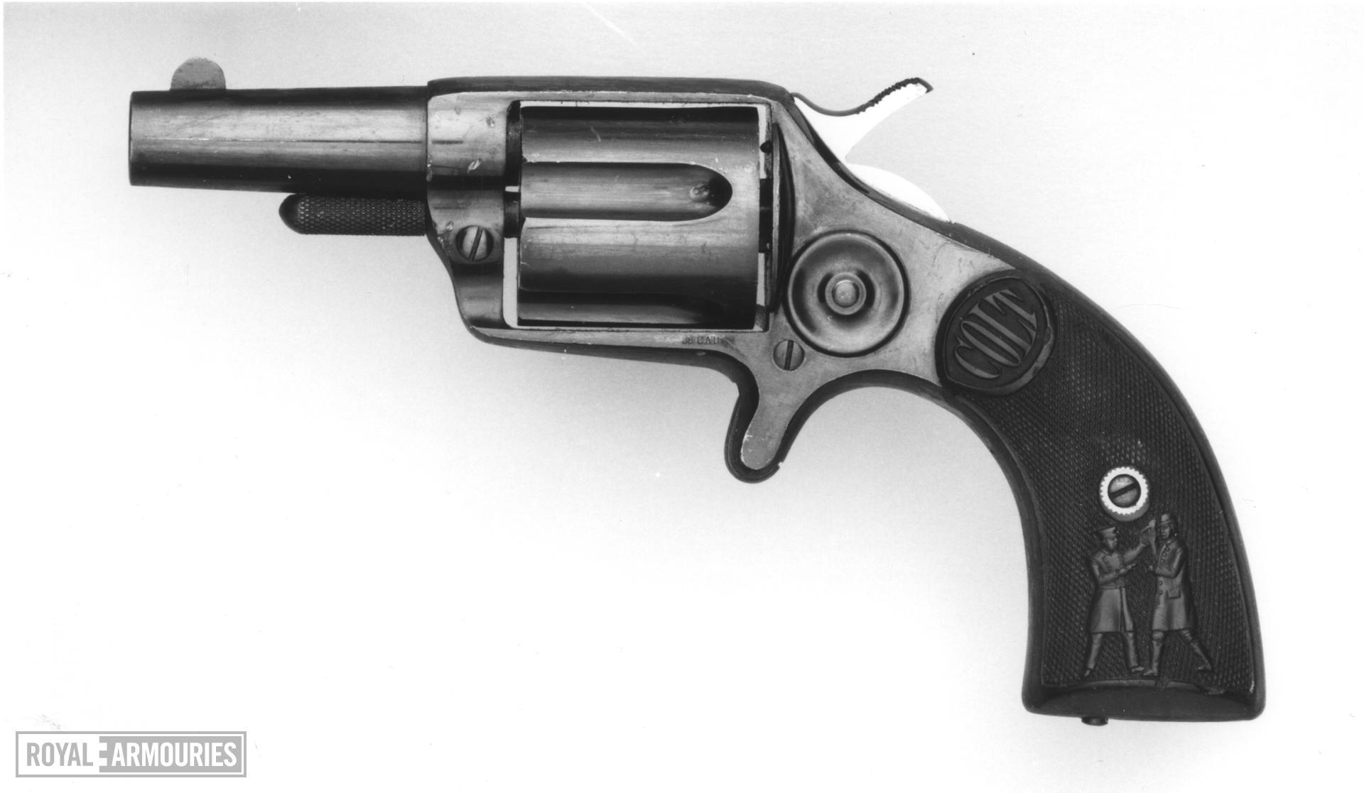 Centrefire five-shot revolver - Colt New House Model