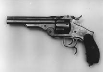 Thumbnail image of Rimfire six-shot revolver - Smith & Wesson New Model Russian copy