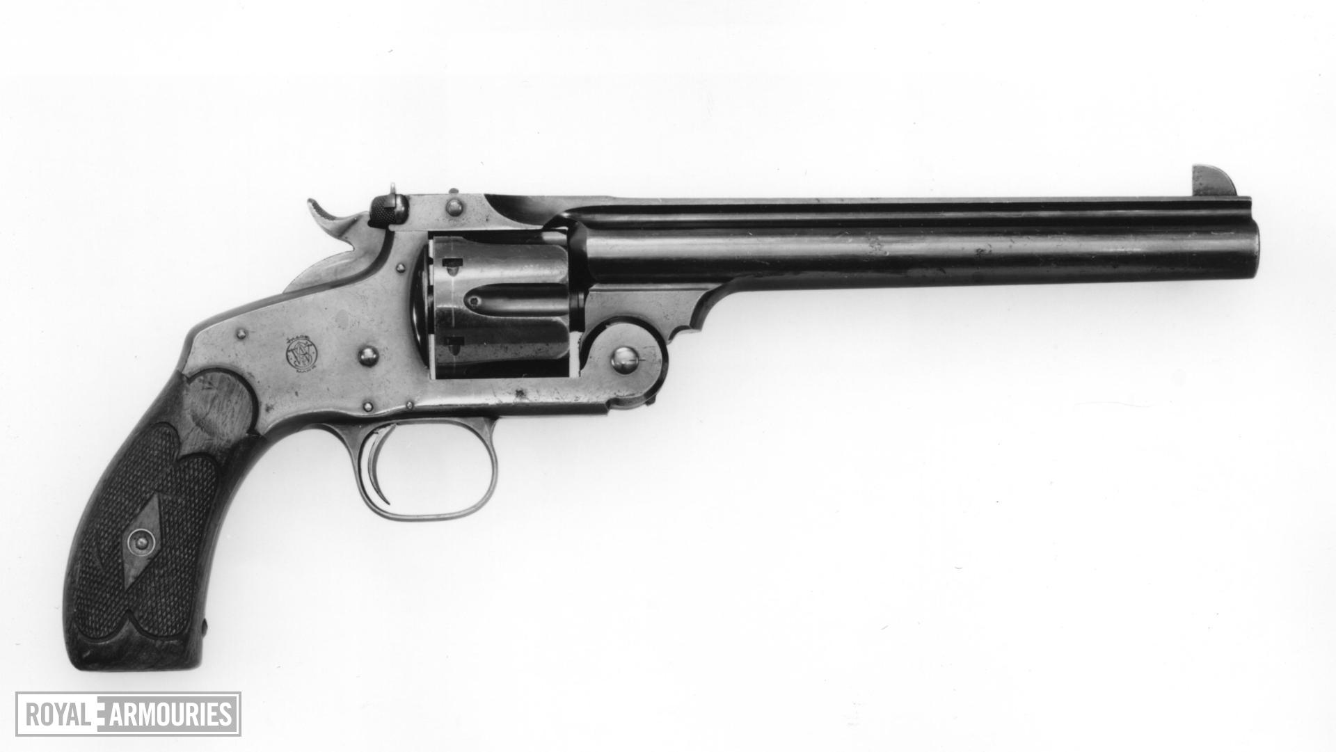 Centrefire six-shot target revolver - Smith & Wesson New Model Army No.3, Target Model