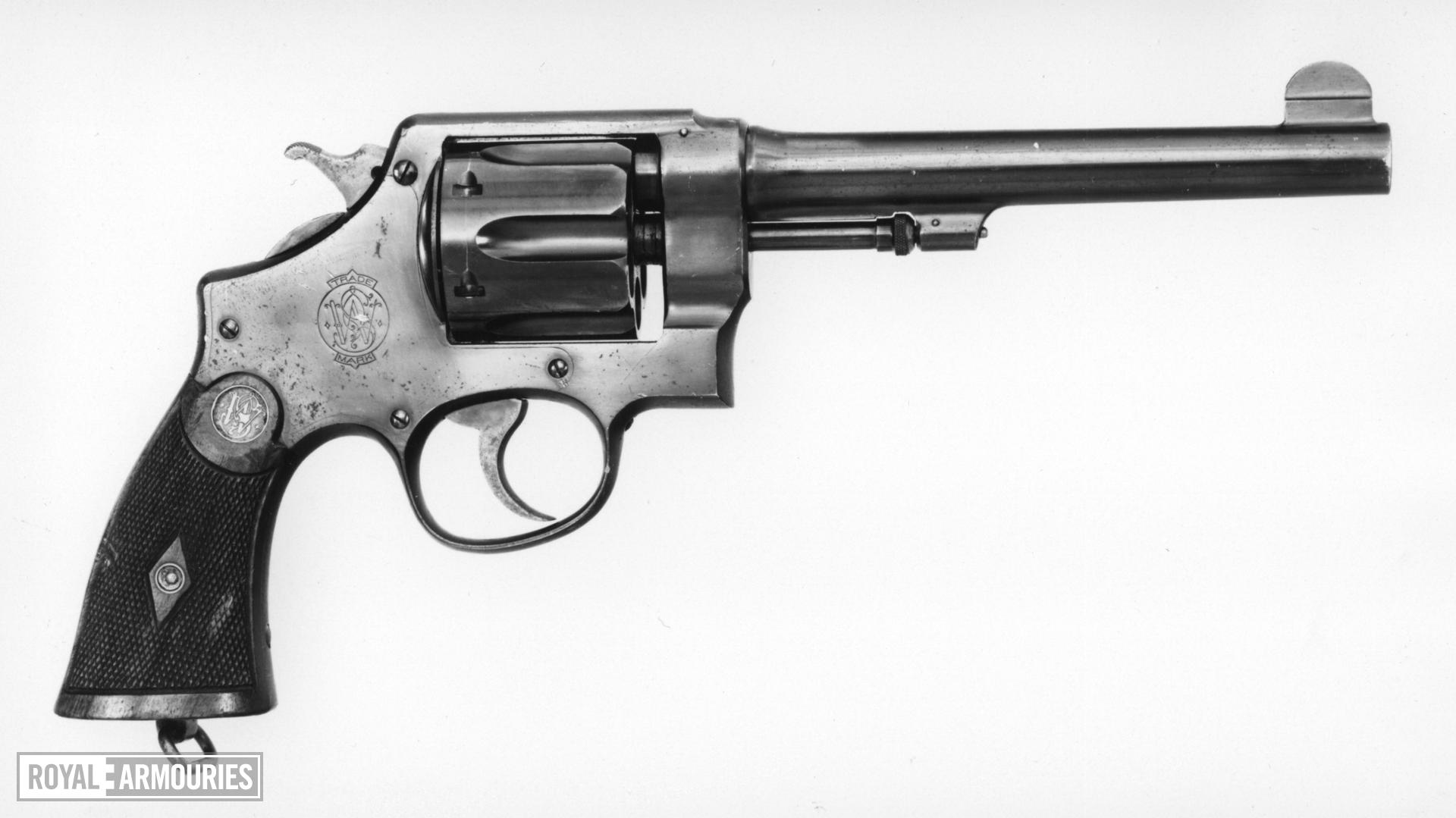 Centrefire six-shot revolver - Smith and Wesson New Century, 1st model 1908