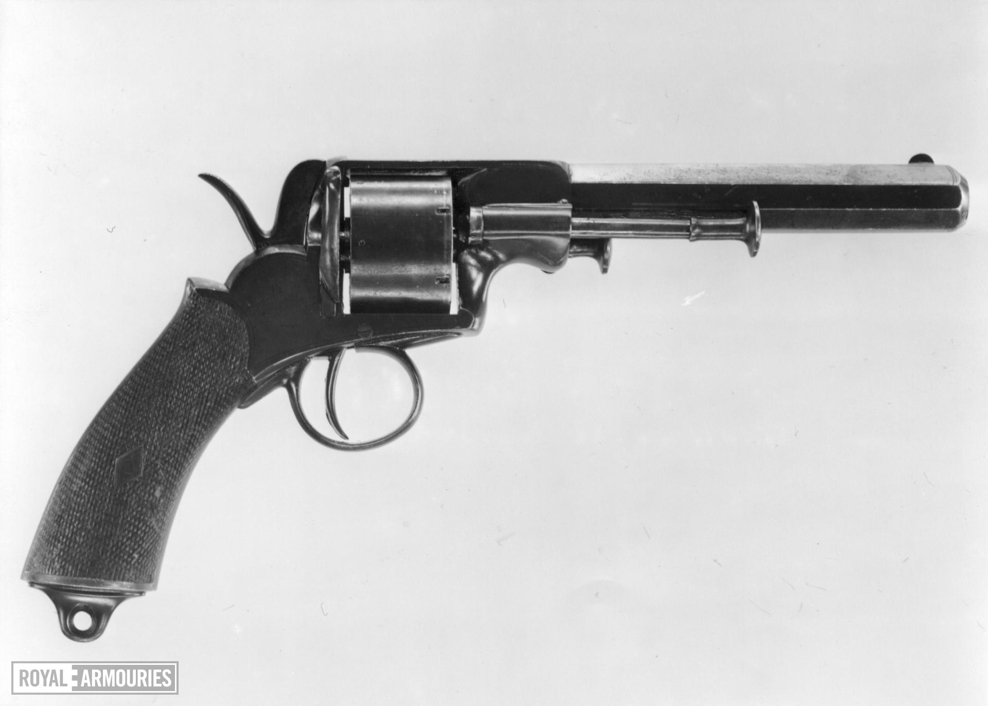 Rimfire six-shot revolver - Webley Solid Frame Model