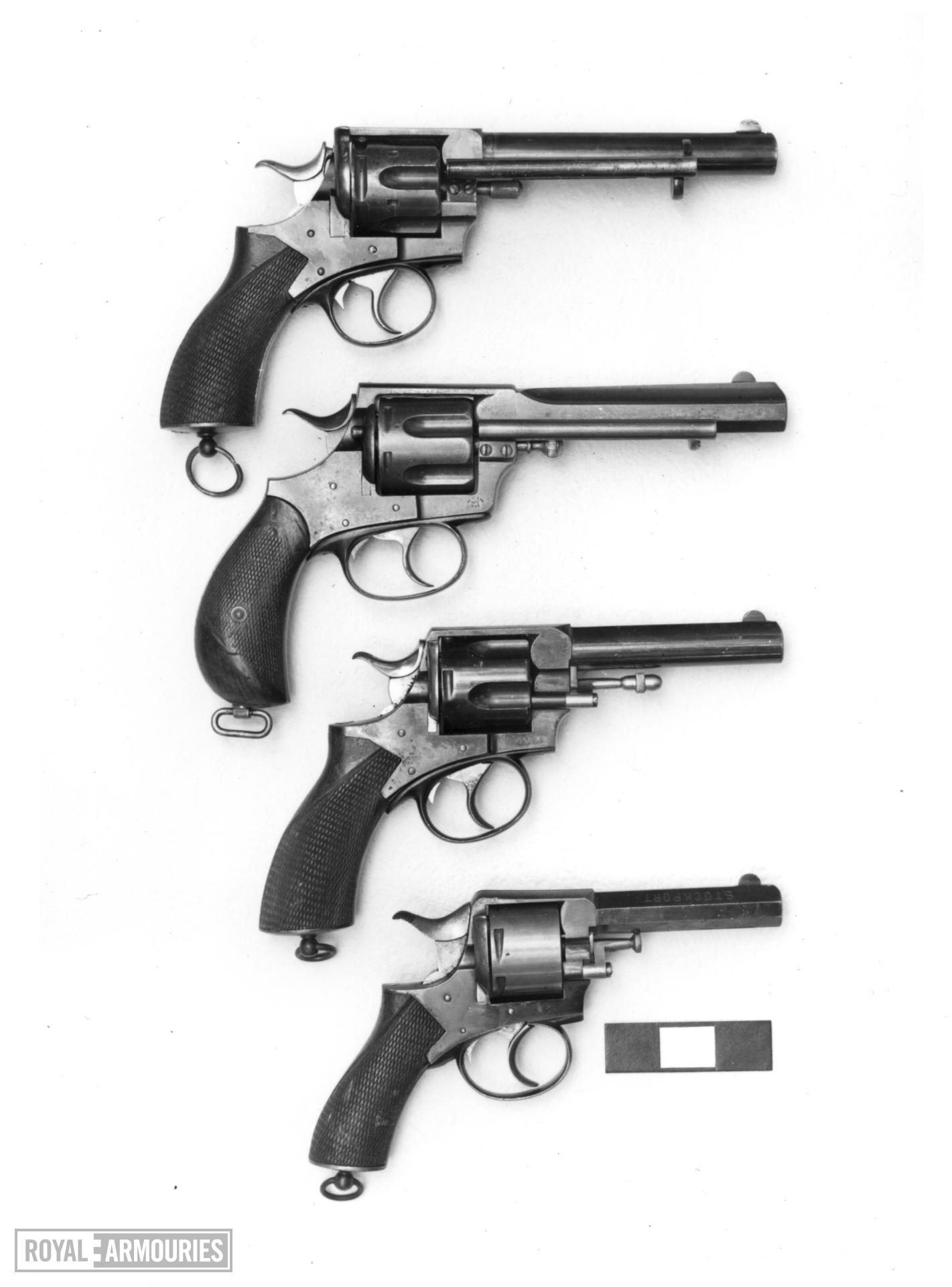 Centrefire six-shot revolver - Webley R.I.C. No. 1 New Model