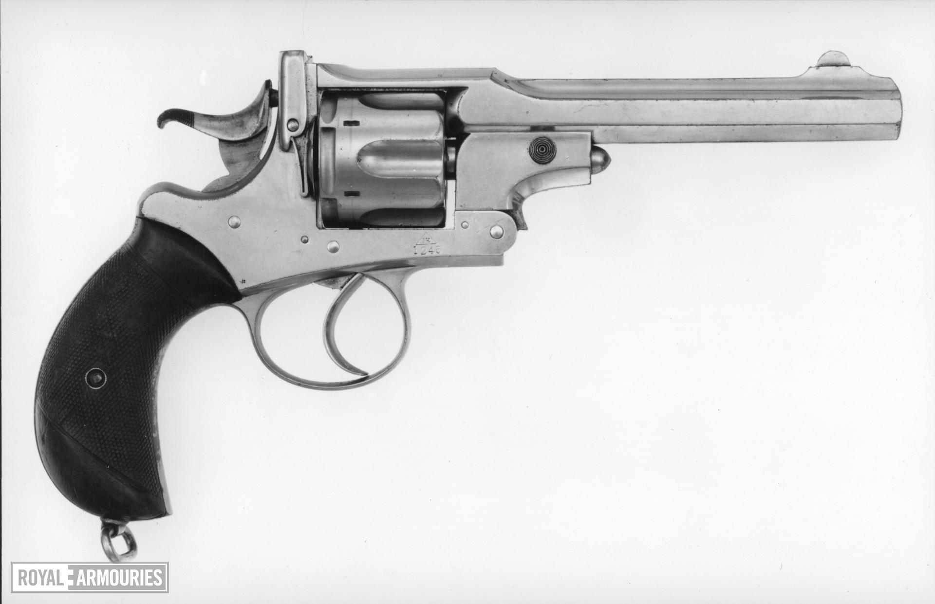 Centrefire six-shot revolver - Webley Improved Govermnent Model, Third Pattern Webley Kaufmann