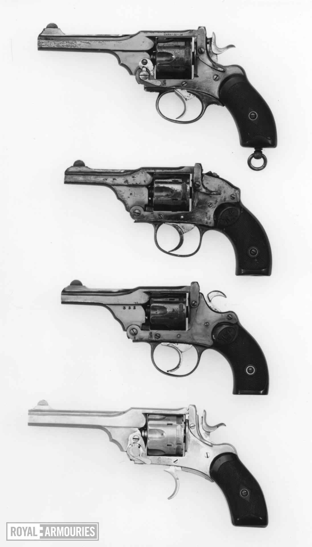 Centrefire six-shot revolver - Webley Mk.II