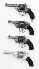 Thumbnail image of Centrefire six-shot revolver - Webley Mk.II Folding trigger By Webley and Scott