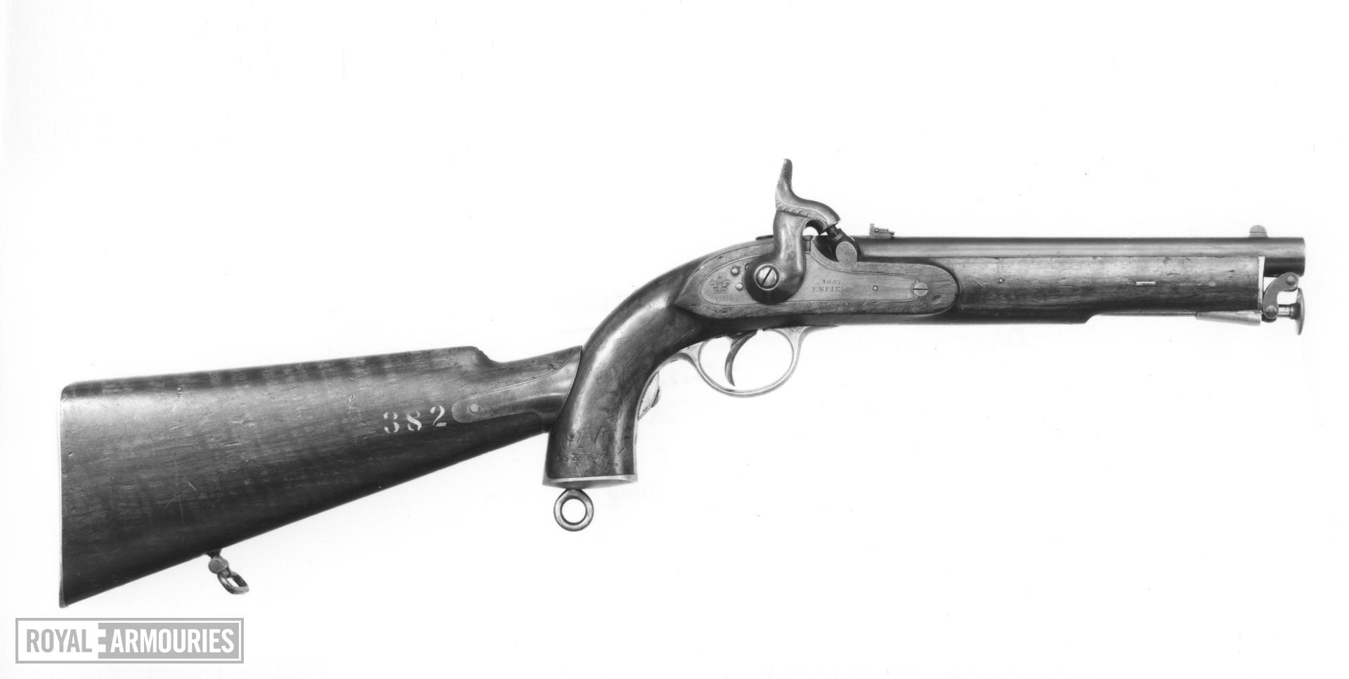 Percussion pistol - Enfield Pattern 1856