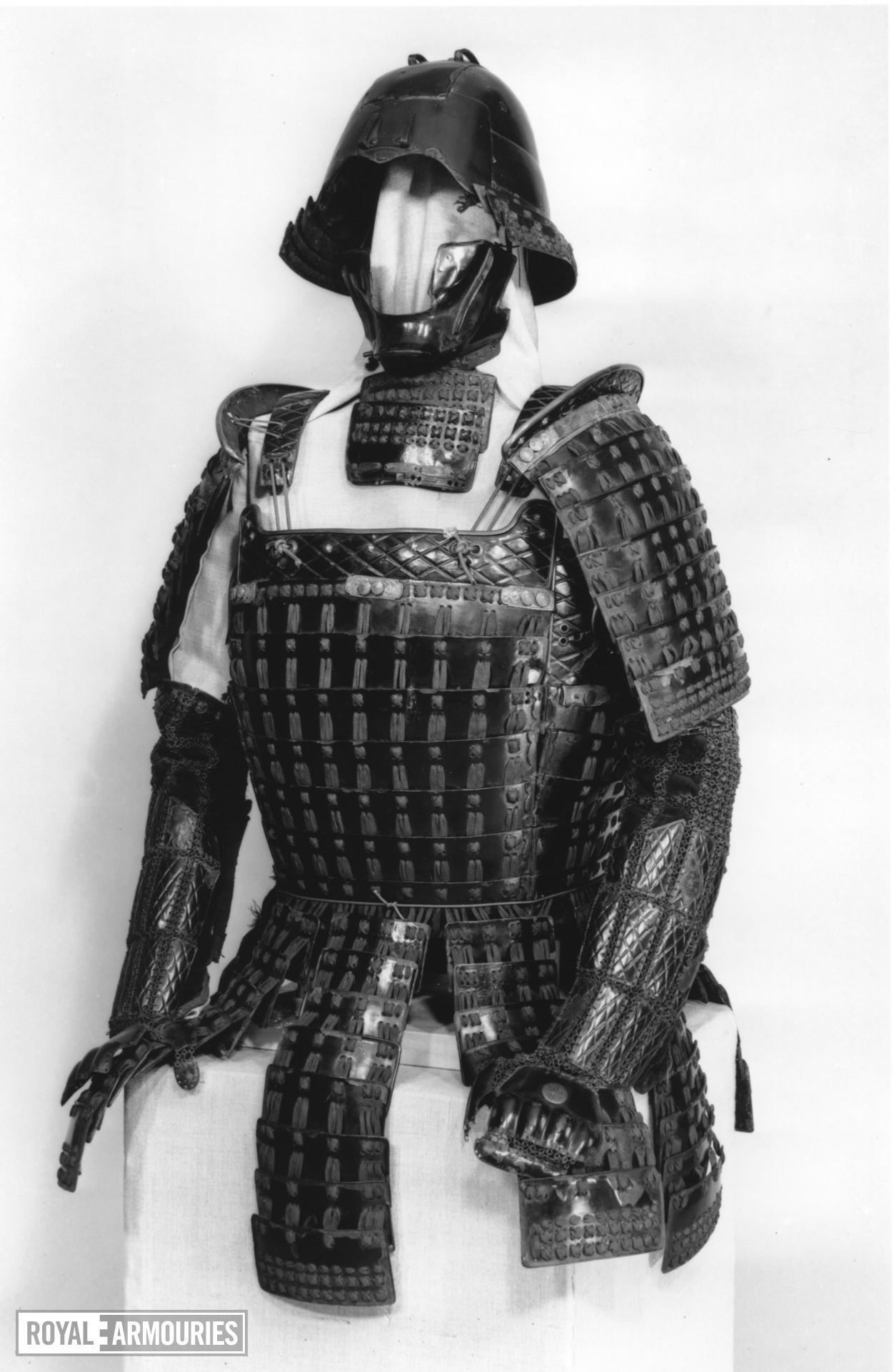 Armour (mogami haramaki gusoku) of a member of the Shimazu family